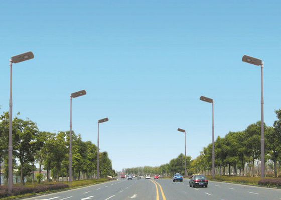 China Endurable All In One Solar LED Street Light 15W  Light Weight Environment - Friendly supplier