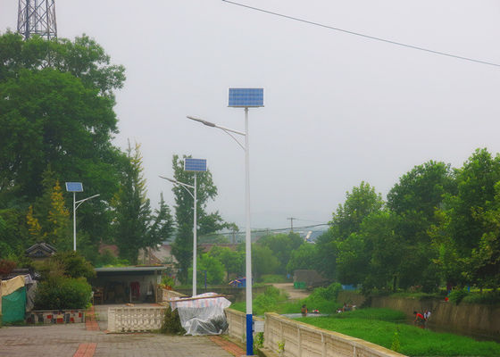 China Endurable Solar Powered LED Street Lights 430 * 340 * 145mm Aluminum Alloy supplier