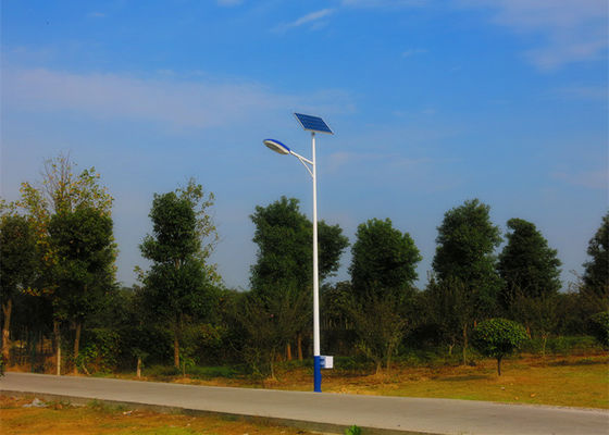 6m Led Commercial Solar Parking Lot Lights  , Solar Powered Area Lights Anti - Corrosion
