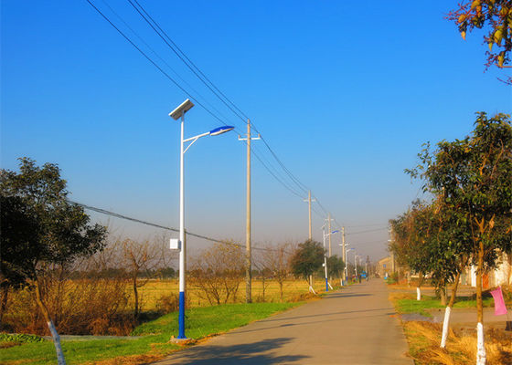 China Super Bright Solar Dusk To Dawn Street Light , Led Street Light With Solar Panel 40W 12V / 24V DC supplier