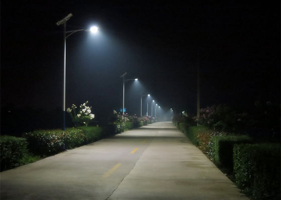 High Performance Solar Powered LED Street Lights Solar Panel 160W / 24V 4200k
