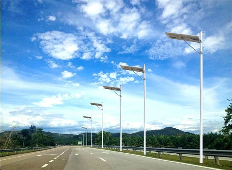 High Lumen All In One Integrated Solar Street Light High