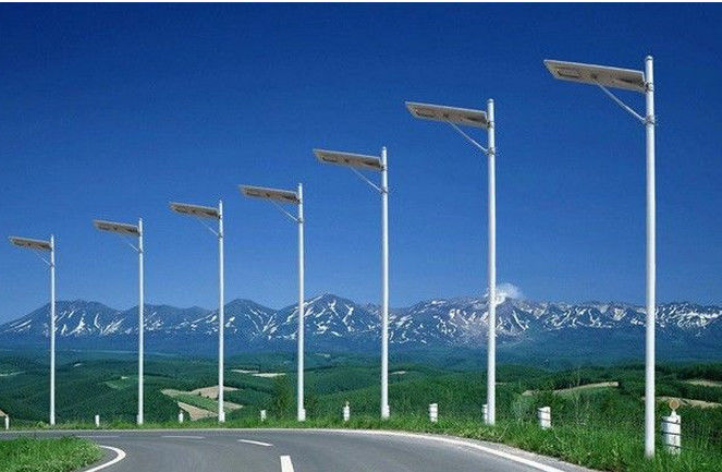 Leisure Square All In One Led Solar Street Light , Scenic Area ...