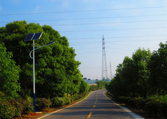 70W Steel Solar Powered LED Street Lights  Anti - Seismic Anti - Rust Stable Performance