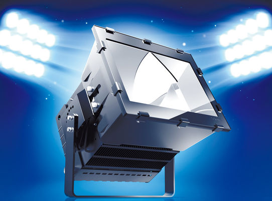 High Power Led Flood Light High Intensity Toughened Glass Cover , Led Outdoor Flood Light Fixtures
