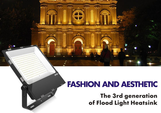 High Efficiency 80W Outdoor LED Flood Lights High Bright Die Casting Aluminum
