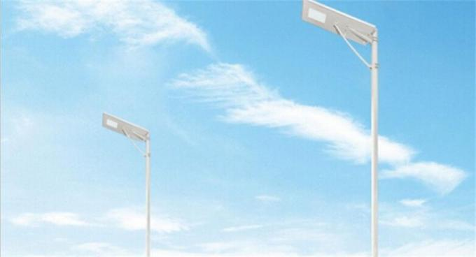 High Lumen All In One Integrated Solar Street Light , High Temperature Resistance Integrated Solar Light